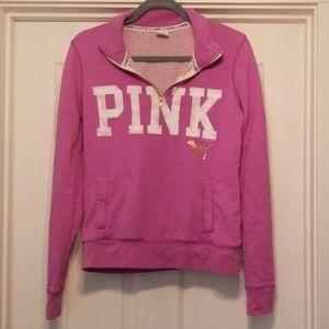 Pink Crew Sweatshirt Size Small